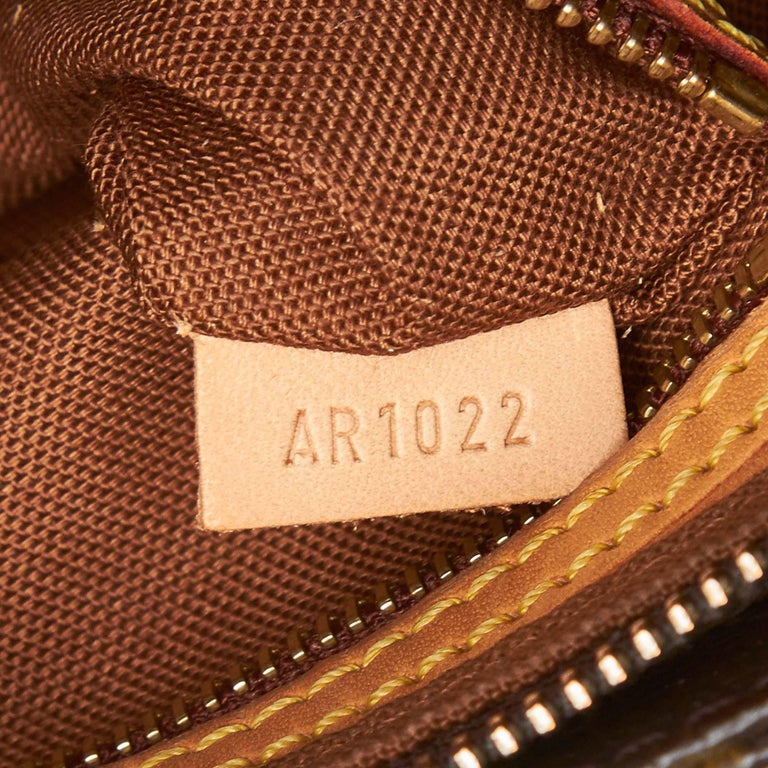 Louis Vuitton Brown Monogram Canvas Canvas Monogram Trotteur France For Sale 2