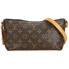 Louis Vuitton Brown Monogram Canvas Canvas Monogram Trotteur France