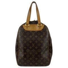 Louis Vuitton Brown Monogram Canvas Excursion Shoe Travel Bag