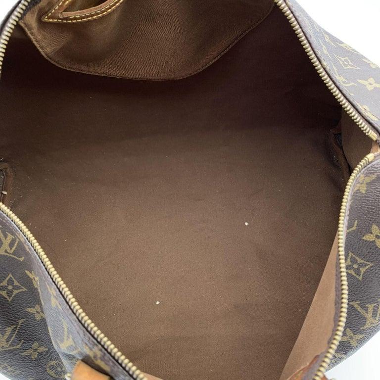 Louis Vuitton Brown Monogram Canvas Speedy 40 Bag Satchel For Sale 4