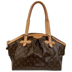Louis Vuitton Brown Monogram Canvas Tivoli GM Satchel Bag
