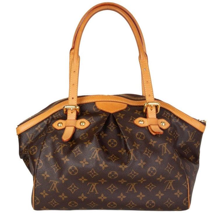 Brown LOUIS VUITTON brown Monogram canvas TIVOLI GM Shoulder Bag For Sale
