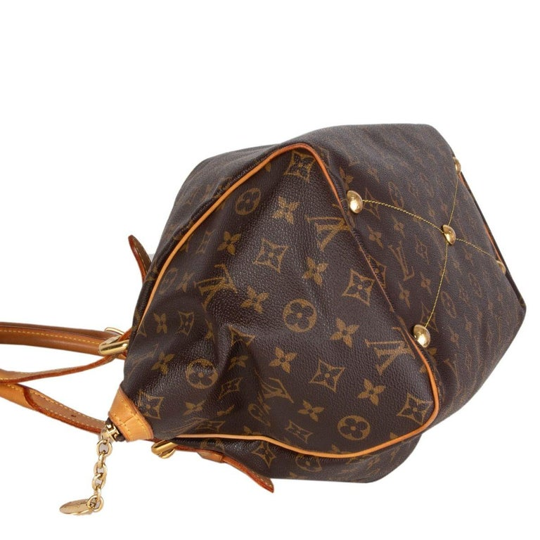 LOUIS VUITTON brown Monogram canvas TIVOLI GM Shoulder Bag In Excellent Condition For Sale In Zürich, CH