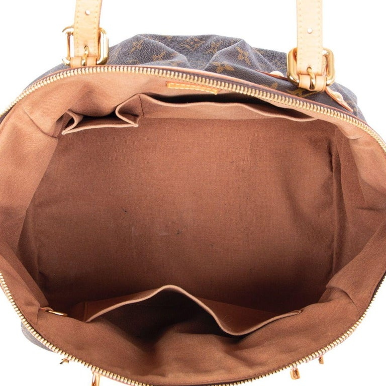 LOUIS VUITTON brown Monogram canvas TIVOLI GM Shoulder Bag For Sale 1
