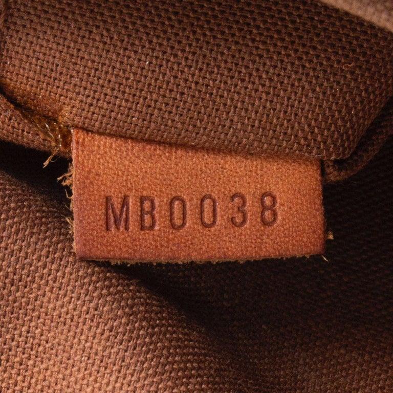 LOUIS VUITTON brown Monogram canvas TIVOLI GM Shoulder Bag For Sale 2