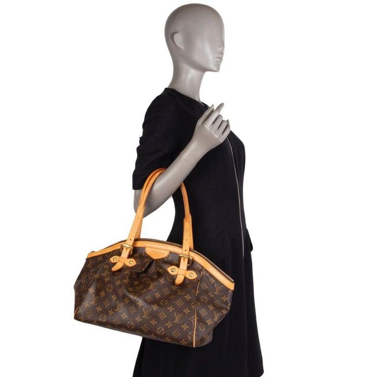 LOUIS VUITTON brown Monogram canvas TIVOLI GM Shoulder Bag For Sale 4