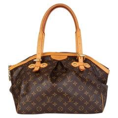 LOUIS VUITTON brown Monogram canvas TIVOLI GM Shoulder Bag