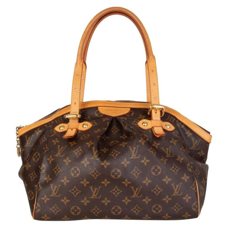 LOUIS VUITTON brown Monogram canvas TIVOLI GM Shoulder Bag For Sale