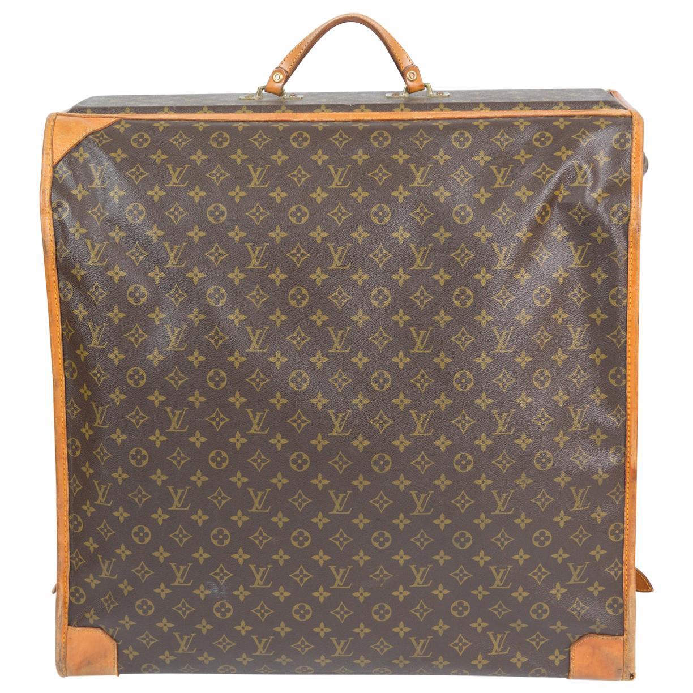 Louis Vuitton Brown Monogram Clothes Hangers Luggage