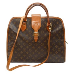 Louis Vuitton Brown Monogram Coated Canvas Briefcase