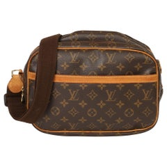 Louis Vuitton Brown Monogram Coated Canvas Reporter PM
