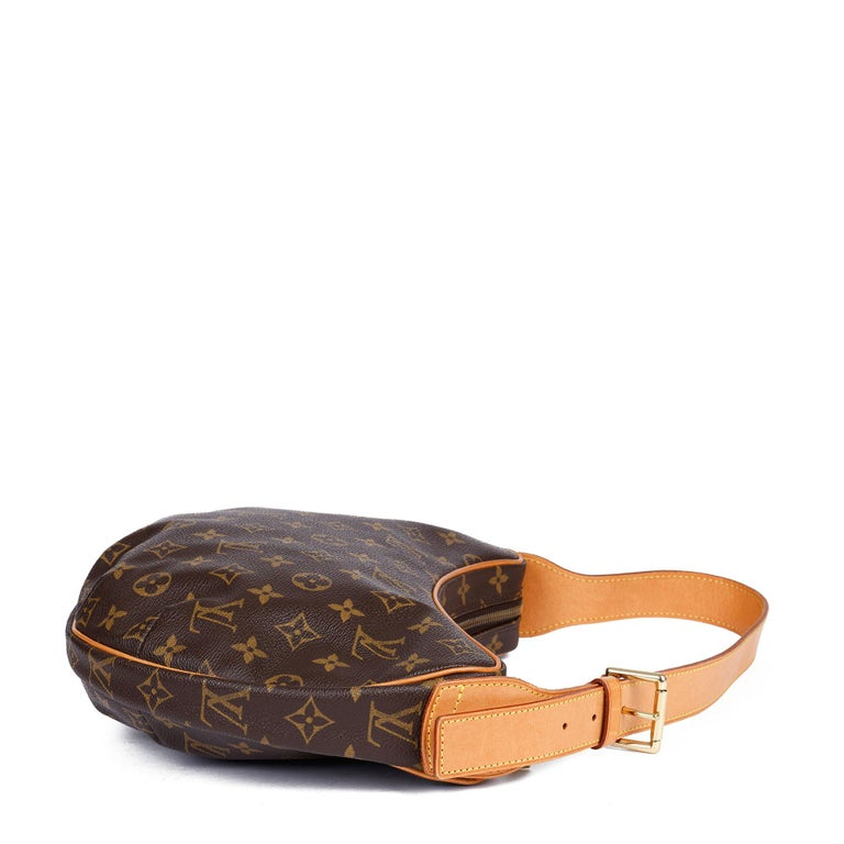 Louis Vuitton Brown Monogram Coated Canvas & Vachetta Leather Crossiant MM In Excellent Condition For Sale In Bishop's Stortford, Hertfordshire