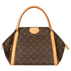Louis Vuitton Brown Monogram Coated Canvas Vachetta Leather Male MM