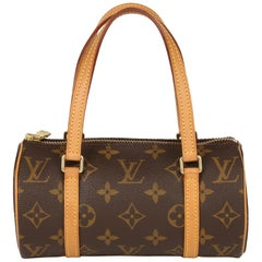 Louis Vuitton Brown Monogram Coated Canvas & Vachetta Leather Mini Papillion