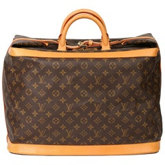 Louis Vuitton Brown Monogram Coated Canvas & Vachetta Leather Vintage Cruiser 45