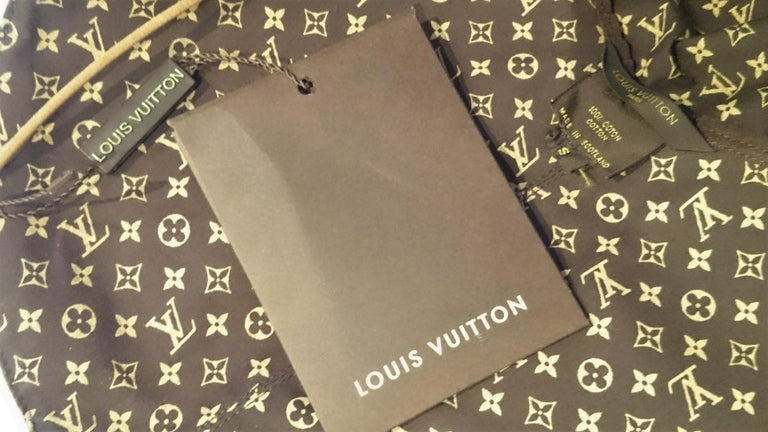 Louis VUITTON Brown Monogram Collection Hat - Unworn, New with tags For Sale 1