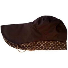 Louis VUITTON Brown Monogram Collection Hat - Unworn, New with tags
