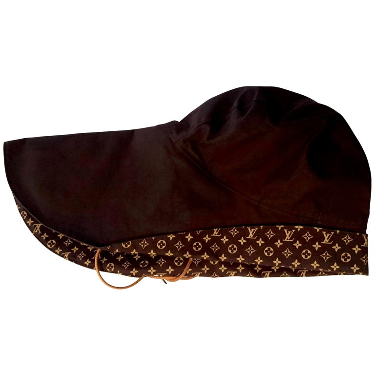 Louis VUITTON Brown Monogram Collection Hat - Unworn, New with tags For Sale