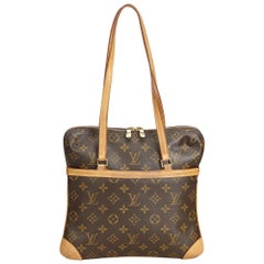Louis Vuitton Brown Monogram Coussin GM