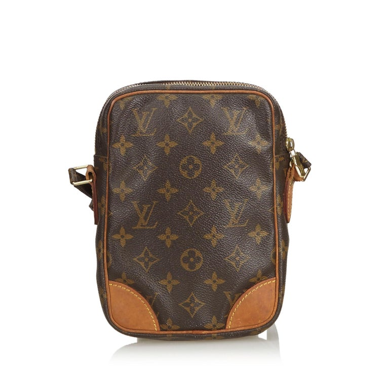 Black Louis Vuitton Brown Monogram Danube For Sale
