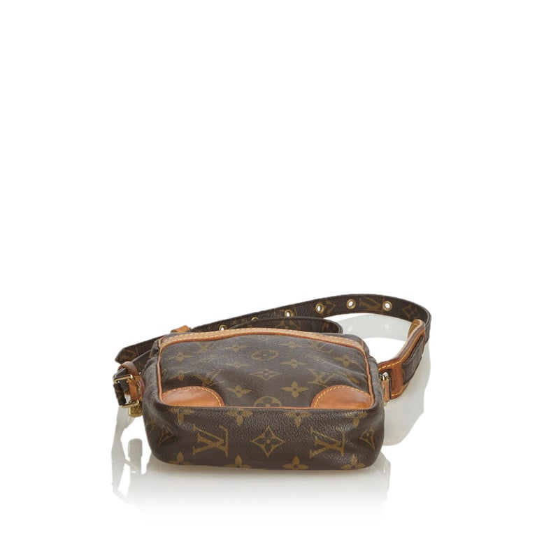 Louis Vuitton Brown Monogram Danube In Good Condition For Sale In Orlando, FL