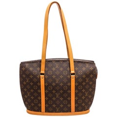 Louis Vuitton Brown Monogram Epi leather Babylone Tote Bag