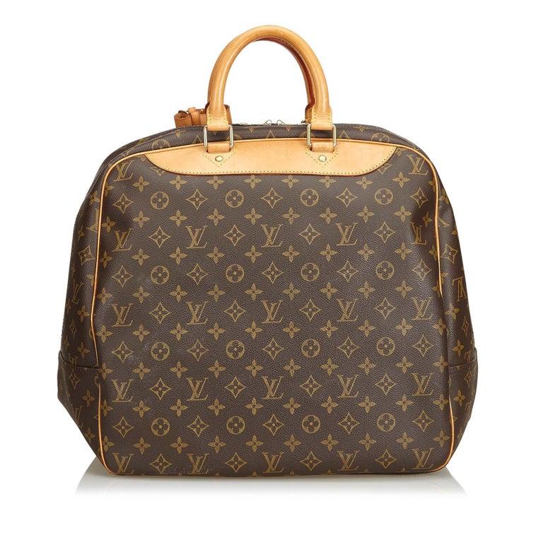 Louis Vuitton Brown Monogram Evasion In Good Condition For Sale In Orlando, FL