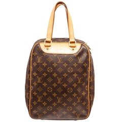 Louis Vuitton Brown Monogram Excursion Satchel Bag