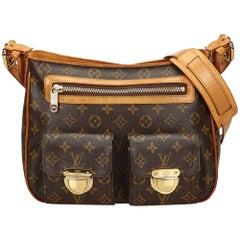Louis Vuitton braune Monogramm Hudson GM Tasche