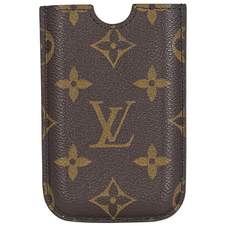 Louis Vuitton Brown Monogram iPhone 3 Case For Sale