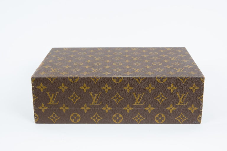 Louis Vuitton Brown Monogram Jewell Case Luggage For Sale 4