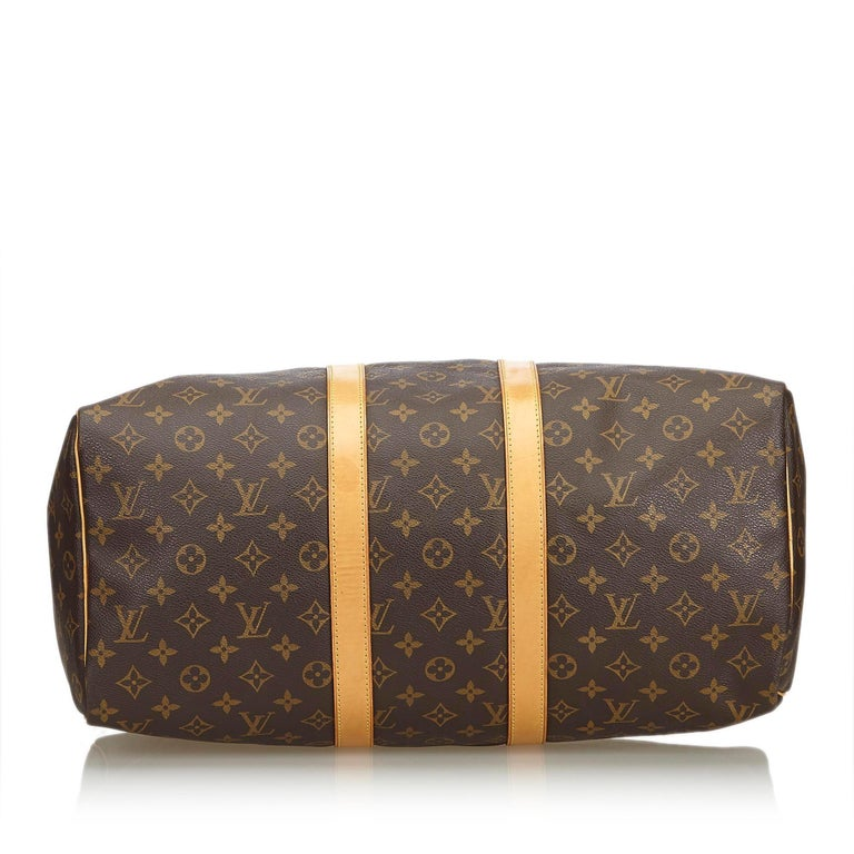Women's Louis Vuitton Brown Monogram Keepall 45 For Sale