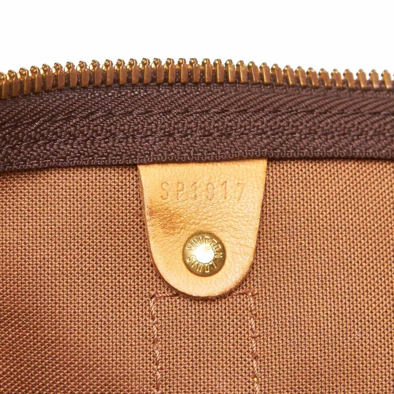 Louis Vuitton Brown Monogram Keepall 45 For Sale 4