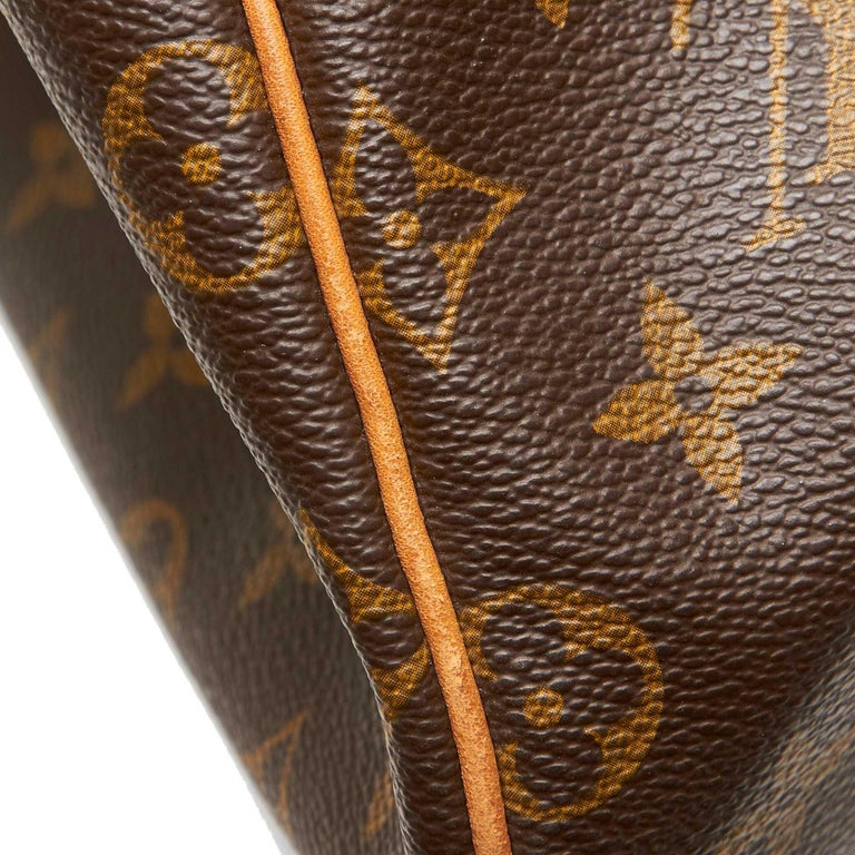 Louis Vuitton Brown Monogram Keepall 55 For Sale 7