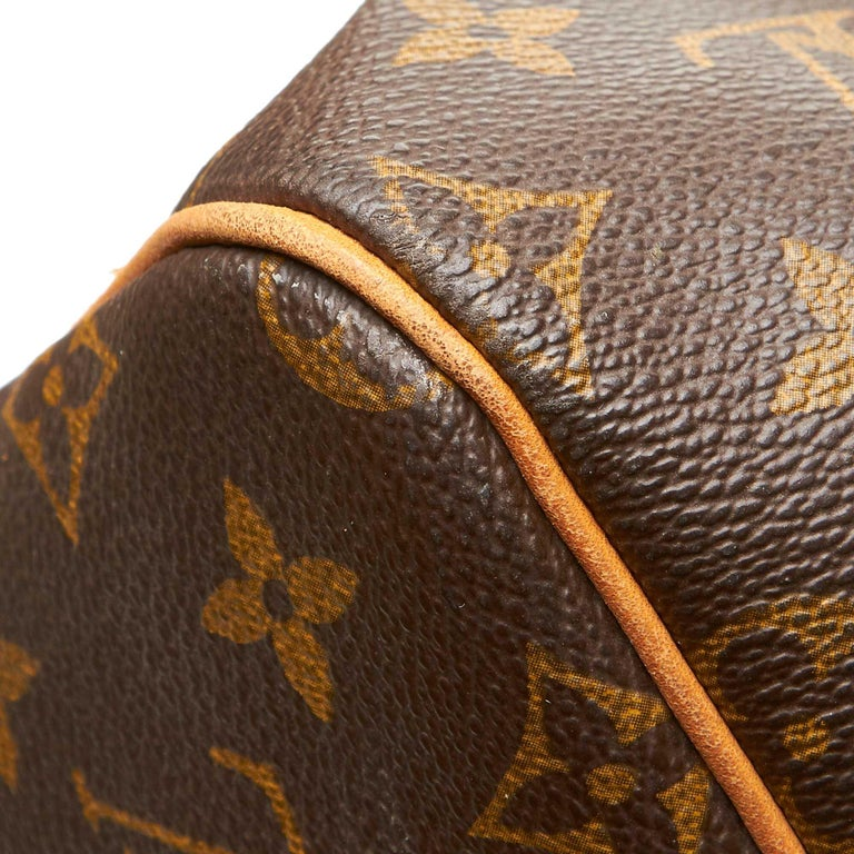 Louis Vuitton Brown Monogram Keepall 55 For Sale 8