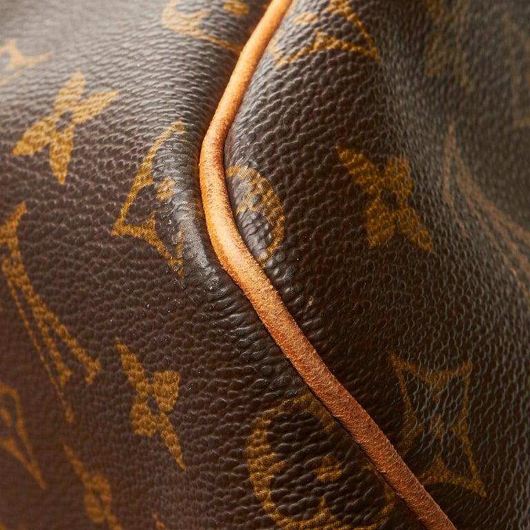 Louis Vuitton Brown Monogram Keepall 55 For Sale 10