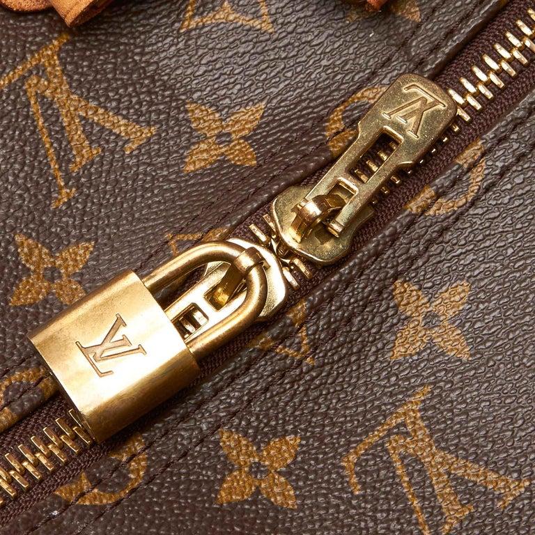 Louis Vuitton Brown Monogram Keepall 55 For Sale 4