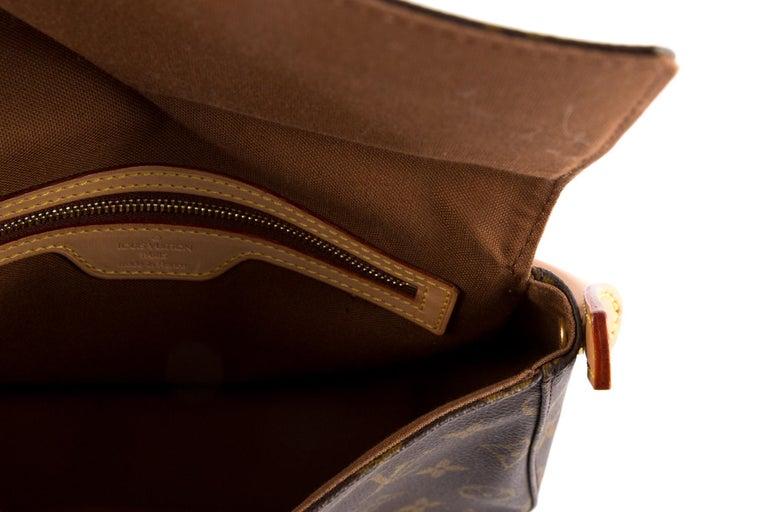 Louis Vuitton Brown Monogram Looping Handbag 1