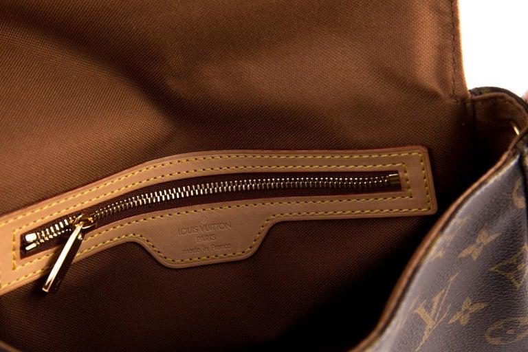 Louis Vuitton Brown Monogram Looping Handbag 2