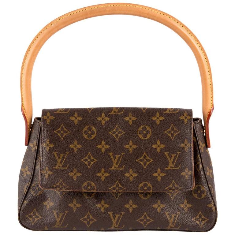 Louis Vuitton Brown Monogram Looping Handbag