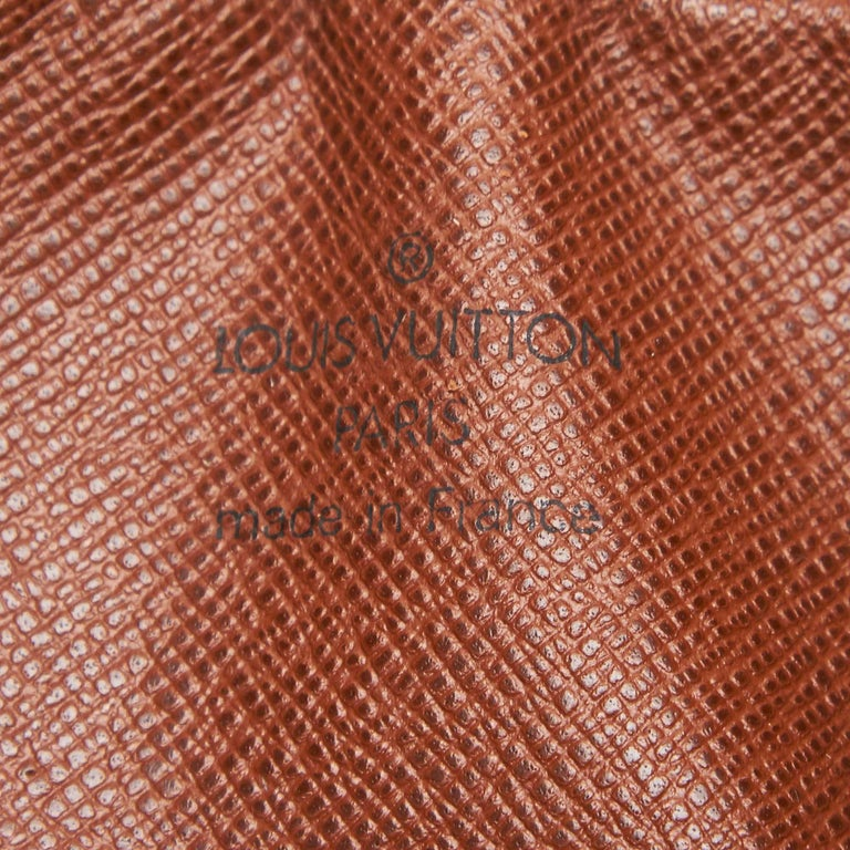 Louis Vuitton Brown Monogram Marly Bandouliere For Sale 1