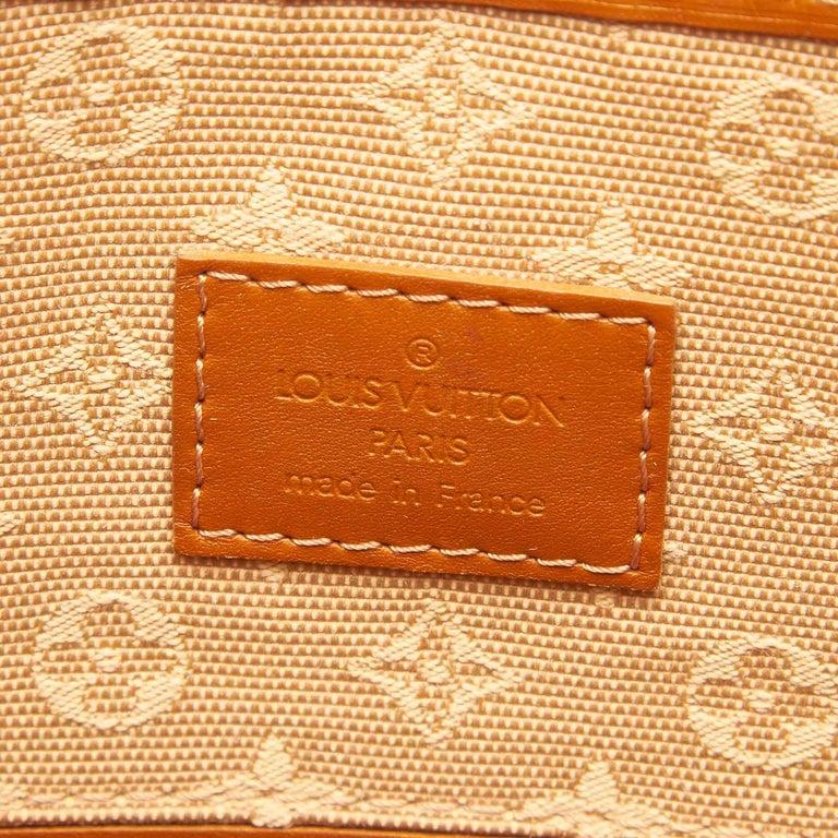 Louis Vuitton Brown Monogram Mini Lin Mary Kate For Sale 1