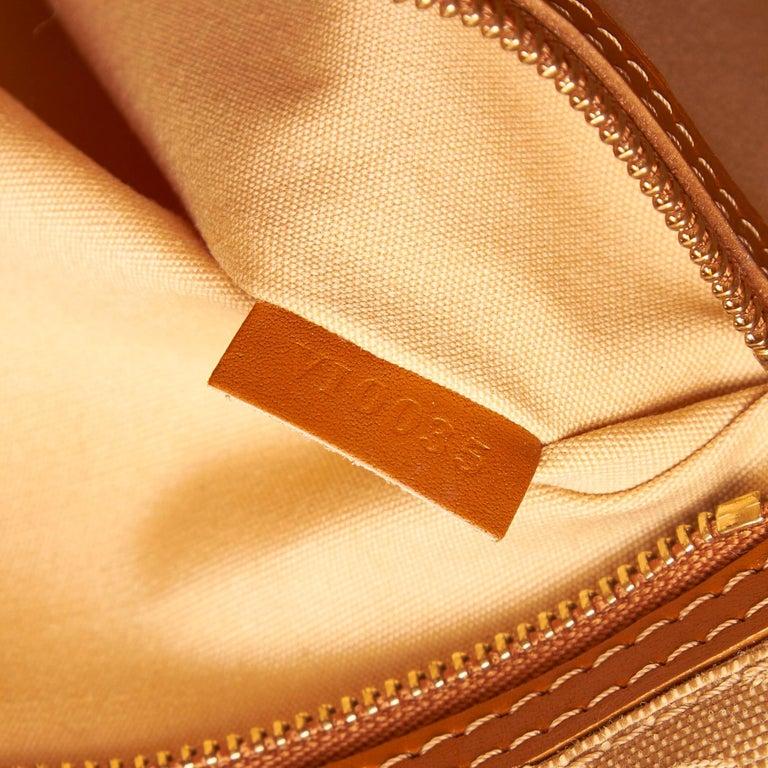 Louis Vuitton Brown Monogram Mini Lin Mary Kate For Sale 2