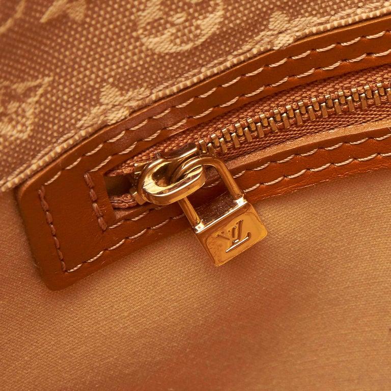 Louis Vuitton Brown Monogram Mini Lin Mary Kate For Sale 3