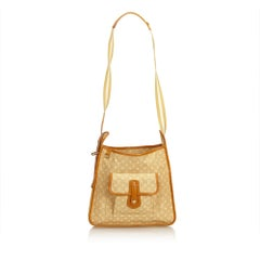 Louis Vuitton Brown Monogram Mini Lin Mary Kate