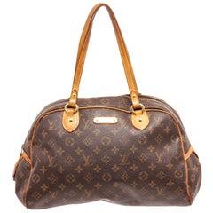 Louis Vuitton Brown Monogram Montorgueil GM Tote Bag