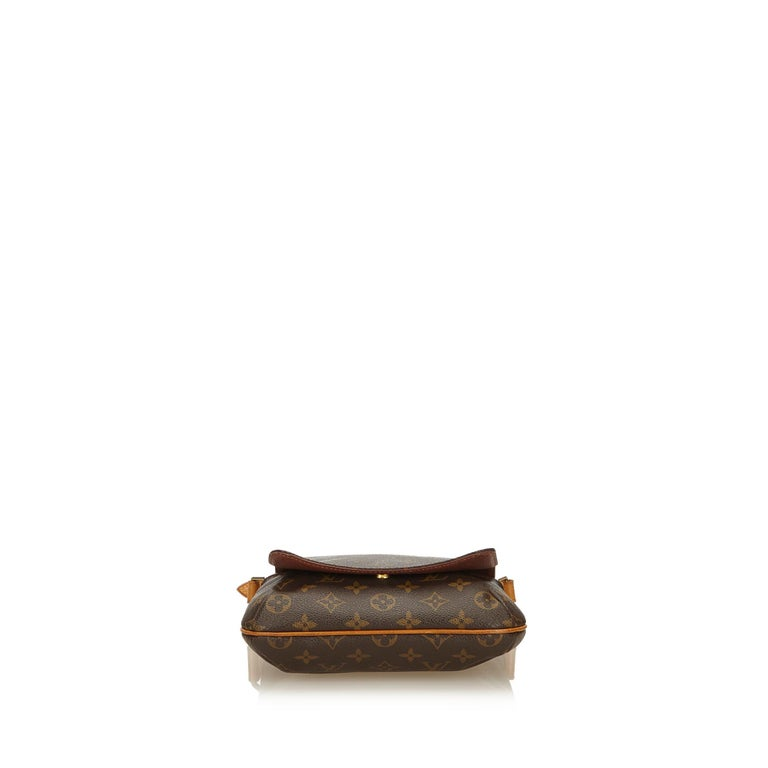 Louis Vuitton Brown Monogram Musette Salsa Short Strap In Good Condition For Sale In Orlando, FL