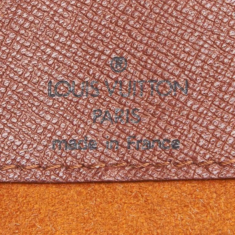 Louis Vuitton Brown Monogram Musette Salsa Short Strap For Sale 1