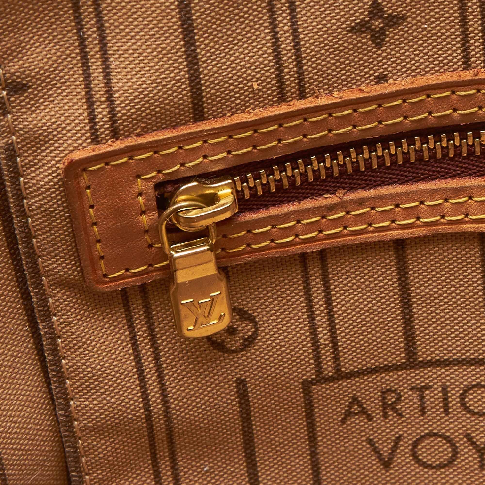 e212a04168df2 Louis Vuitton Braun Monogramm Neverfull PM im Angebot bei 1stdibs