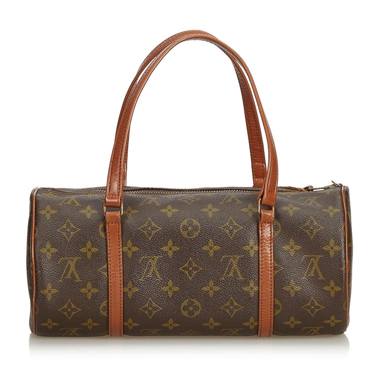 Louis Vuitton Brown Monogram Papillon 30 In Good Condition For Sale In Orlando, FL